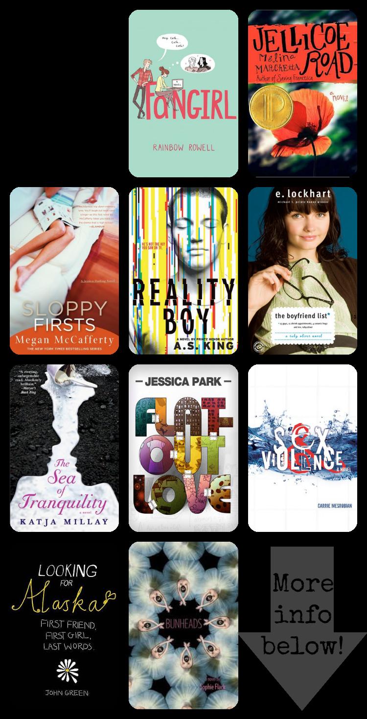 Top Ten Contemporary Novels