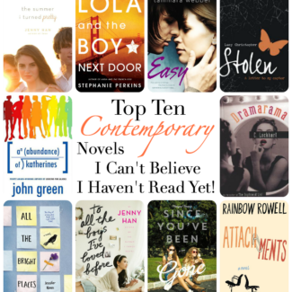 Top Ten Contemporary Novels I Can't Believe I Haven't Read Yet