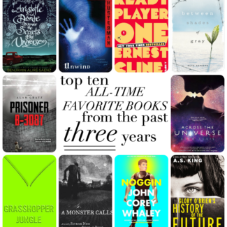 Top Ten ALL-TIME FAVORITE Books from the Last 3 Years
