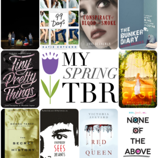 Top Ten Books on My Spring TBR