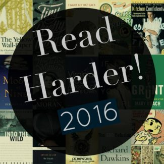 Final Update: How'd I Do on the 2016 Book Riot Read Harder Challenge?
