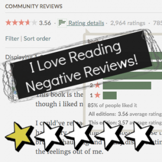 I Love Reading Negative Reviews of Books